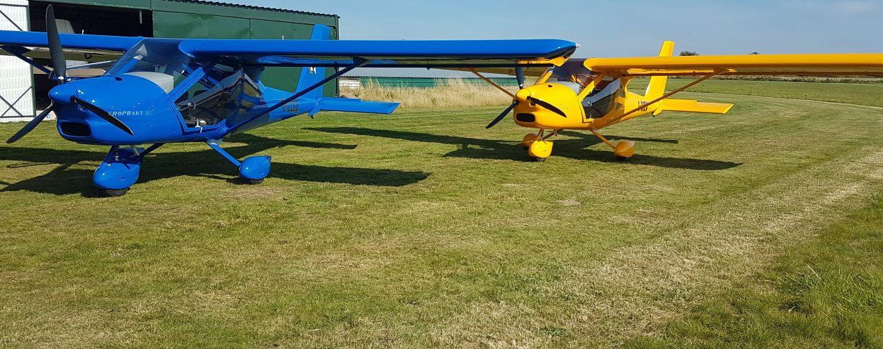 The latest customer Vixxen aircraft during test flying